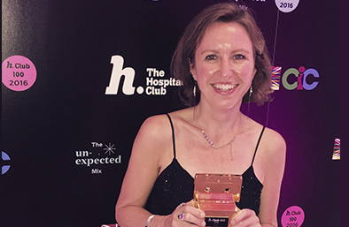 Vanessa Reed, Chief Executive of PRS for Music Foundation wins music category of Hospital Club 100 Awards