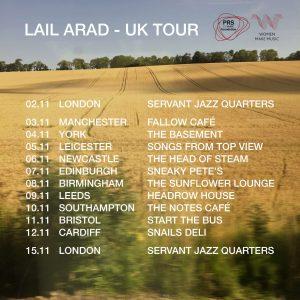 Lail Arad Tour November 2016